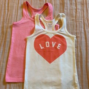 Old Navy Fitted Racerback Tanks - Set of 2
